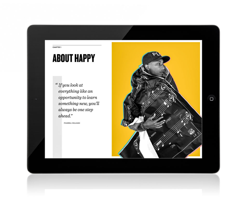 Pharrell Williams' Happy Book Case Study The Content Group